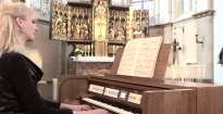 Iris Rieg plays 'Fantasie in g-moll, BWV 542' by J.S. Bach.